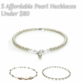 affordable pearl necklaces