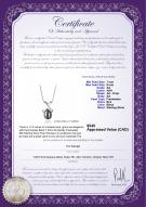 product certificate: B-Fresh-Pend-S-77-Empress