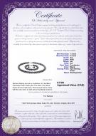 product certificate: FW-B-AA-7585-S