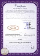 product certificate: P-AA-67-S