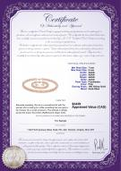 product certificate: P-AAAA-758-S