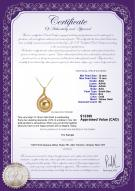 product certificate: SS-G-AAA-1213-P-Catalina