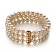 6-7mm AA Quality Freshwater Cultured Pearl Bracelet in Dianna White