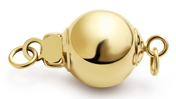Clasp in Ball - 14k Yellow Gold