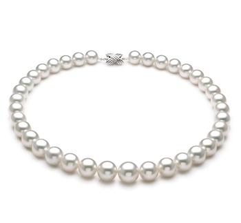 11-14mm AAA+ Quality South Sea Cultured Pearl Necklace in White
