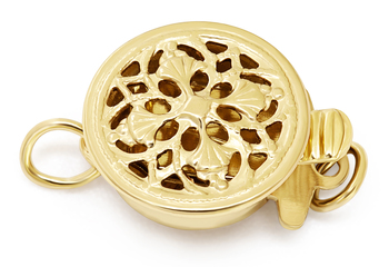Clasp in Siena - Gold-filled