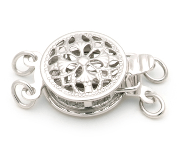 Clasp in Sussex -14k White Gold