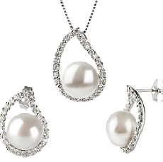 White Freshwater Pearl Sets