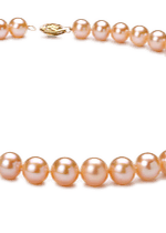 Pink Color Pearl Necklaces