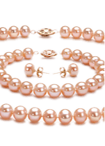Pink Color Pearl Sets