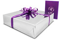 optional gift wrapping and gift card