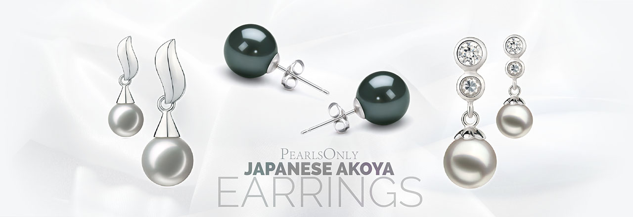 PearlsOnly Japanese Akoya Earrings