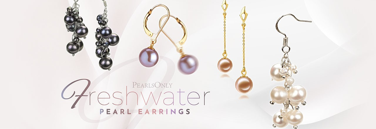 Landing banner for Freshwater Pearl Earrings