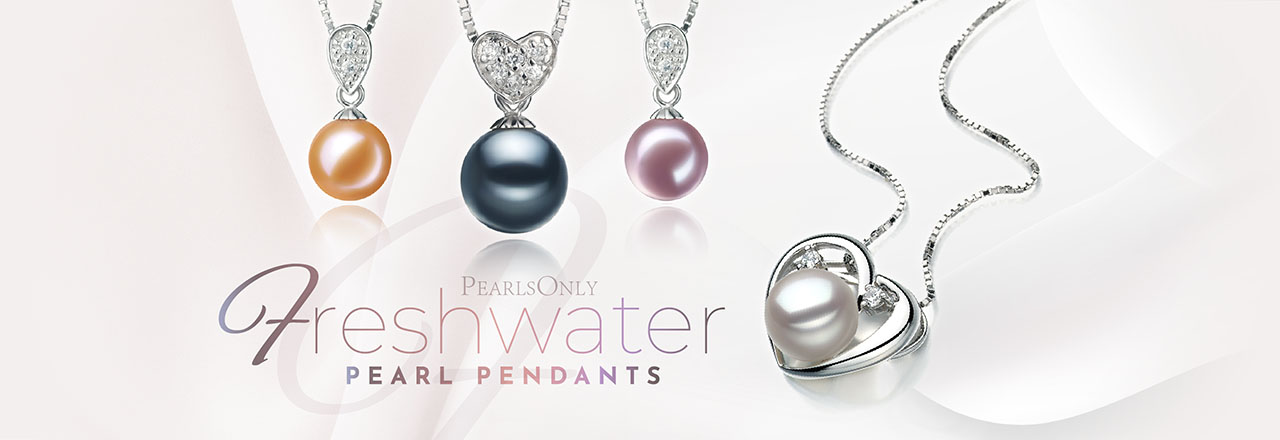 PearlsOnly Freshwater Pearl Pendant