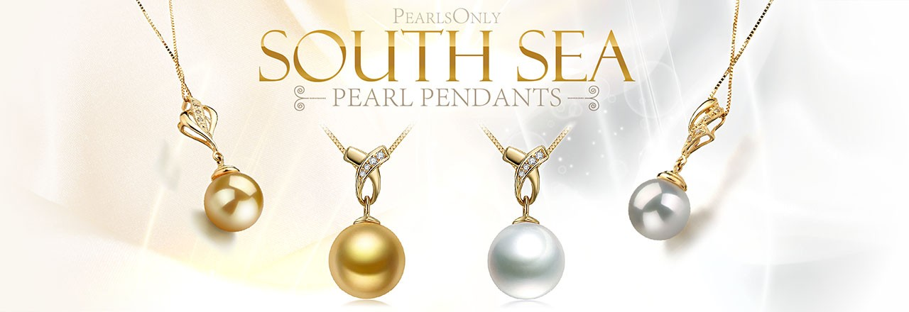 PearlsOnly South Sea Pearl Pendants
