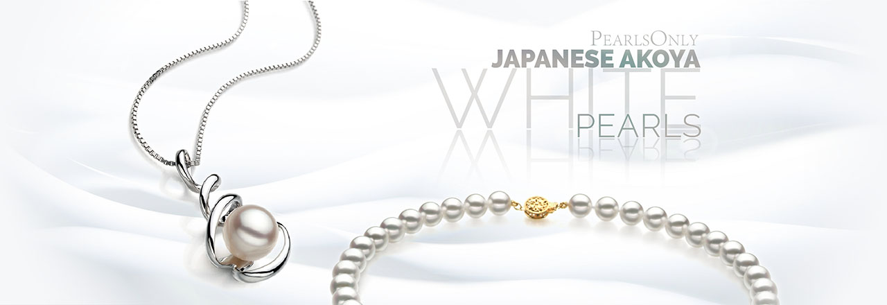 PearlsOnly White Japanese Akoya Pearls