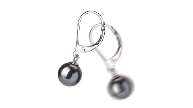 View Black Freshwater Pearl Earrings collection
