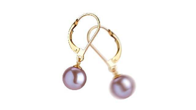 View Lavender Freshwater Pearl Earrings collection