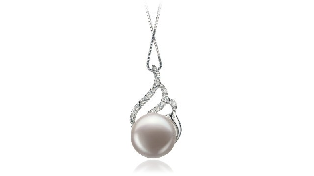View White Freshwater Pearl Pendants collection
